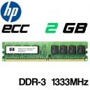 Memoria DDR-3 2048MB PC-1333 HP-G7 PC3 500670-B21