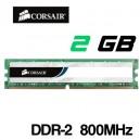 Memoria DDR-2 2048MB PC-800 Corsair VS2GB800D2 G