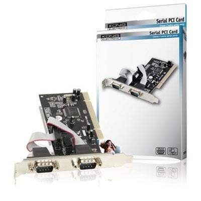 Tarjeta Amp. 2 P. Serie PCI Koning