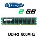 Memoria DDR-2 2048MB PC-800 Integral