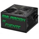 Ampliación fuente PFC 550W 12x12 SATA