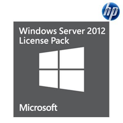 Licencia Windows 2012 Server Pack 5 Call HP