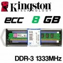 Memoria DDR-3 8192MB PC-1333 ECC Kingston