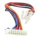 Cable Adaptador de alimentación ATX a AT 20p-2x6p