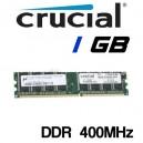 Memoria DDR 1GB PC-400 Crucial
