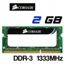 Memoria Portatil DDR-3 2GB PC-1333 Corsair