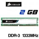 Memoria DDR-3 2GB PC-1333 Corsair