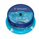 CD-R Verbatim 52X 700MB Tarrina 25 ud.