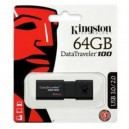Memoria Mini Drive USB 64GB 3.0 DT100G3 Kingston