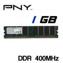 Memoria DDR 1GB PC-400 PNY