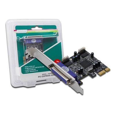 Tarjeta Amp. 2 P. S.+1 P. PCI-X Digitus DS-30040-1