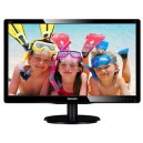 "Monitor Philips 19,5"" LED 200V4LAB Multimedia"
