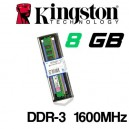 Memoria DDR-3 8GB PC-1600 Kingston KVR16N11