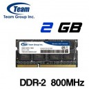 Memoria Portátil DDR-2 2GB PC-800 Teamgroup