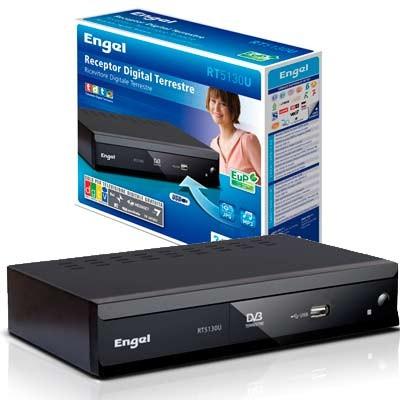 TDT sobremesa Engel RT5130U USB, Scart