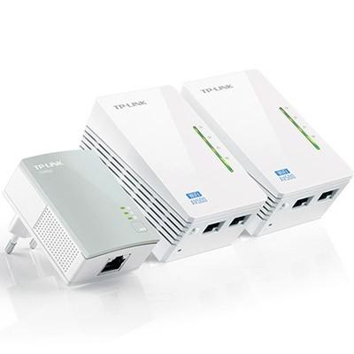 PLC TP-Link Kit de 3 WiFi AV600 TL-WPA4220TKIT