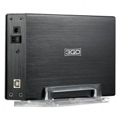"""Caja Externa HDD 3,5"""" IDE&SATA 3GO HDD35BKIS USB2"""