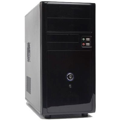 Caja Minitorre Phase MPC21 Negra 500W