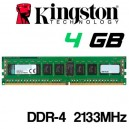 Memoria DDR-4 4GB PC-2133 KINGSTON KVR21N15S8