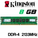 Memoria DDR-4 8GB PC-2133 KINGSTON KVR21N15D8/8