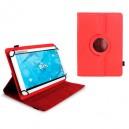 "Funda Tablet 10,1"" 3Go giratoria CSGT15 roja"