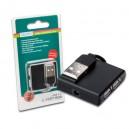 Hub Ampliación 4 Puertos USB 2.0 Digitus DA-70217