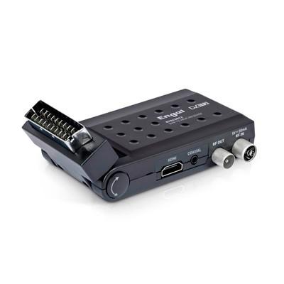 TDT Mini Engel DVBT2-HEV Euroconector Acodado