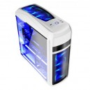 Caja Semitorre Coolbox DeepSting Gaming blanca S/F