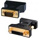 Adaptador VGA M a DVI analógico H