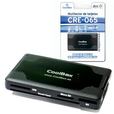Lector Multi. Memory-Card Externo USB+DNI CR-065
