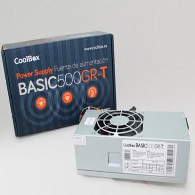 Fuente de alimentación TFX CoolBox Basic 500GR-T
