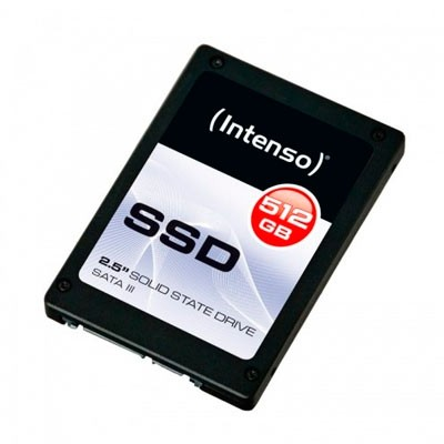 "HD SSD 512GB Intenso 2,5"" SATA-III 3812450"