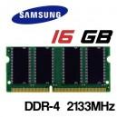 Memoria Portátil DDR-4 16GB PC 2133 Samsung 1,2V