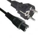 Cable de corriente trebol IEC 320-C5