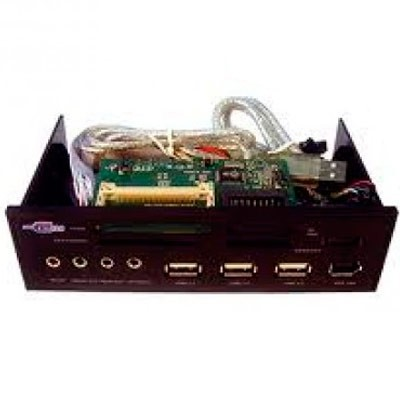 Lector 21 en 1 Memory-Card 5 1/4 + USB SATA CR-562