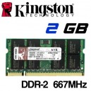 Memoria Portátil DDR-2 2048MB PC-667 Kingston