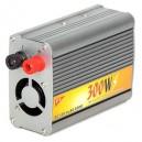 Inversor de corriente 12V-230V. (coche) 300W