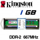 Memoria DDR-2 1024MB PC-667 Kingston