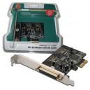 Tarjeta Amp. 1 P. Paralelo PCI-Express Digitus