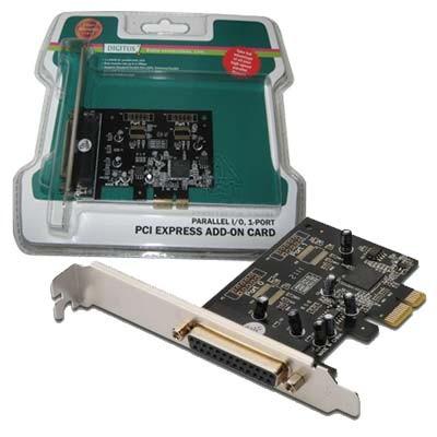 Tarjeta Amp. 1 P. Paralelo PCI-Ex Digitus DS-30020