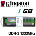 Memoria DDR-3 1024MB PC-1333 Kingston