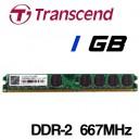 Memoria DDR-2 1024MB PC-667 Transcend