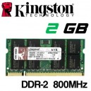 Memoria Portátil DDR-2 2048MB PC-800 Kingston