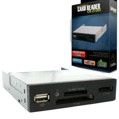 "Lector Multi. Memory-Card 3,5"" + e-SATA CR-310ES"