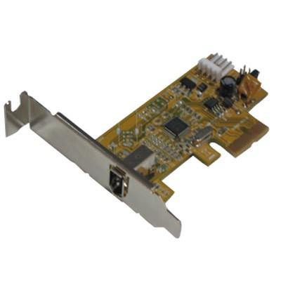Tarjeta Amp. 1 P. Firewire PCI-EXP. low prof.