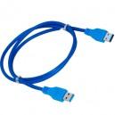Cable USB 3.0 A/A apant. Super speed M/M 1,8m