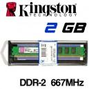 Memoria DDR-2 2048MB PC-667 Kingston KTH-XW4300/2G