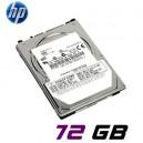 "HD Servidor 2,5"" HP 72GB SAS SFF 512545-B21"