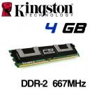 Memoria DDR-2 4096MB PC-667 ECC KVR667D2Q8F5