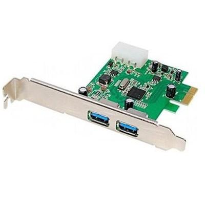 Tarjeta Amp. 2 P. USB 3.0 PCI-EXP.